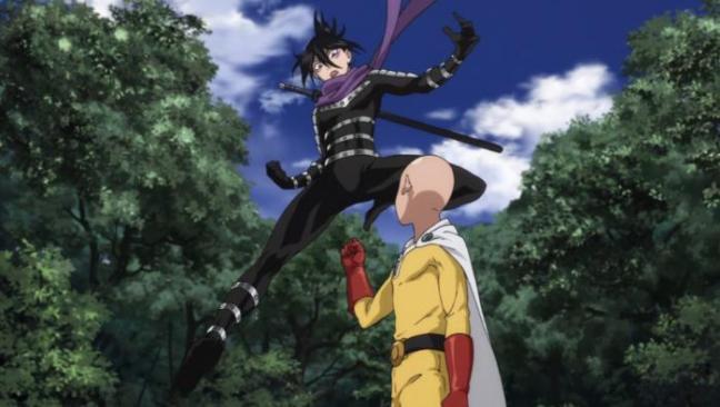 Saitama sacking Sonic