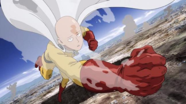 One Punch Man Anime Premiere