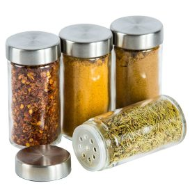 stainless steel spice jar sample