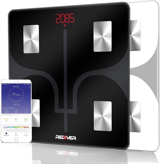 Digital Bathroom Bluetooth body fat scale