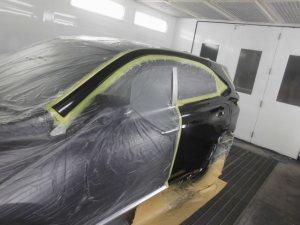 トヨタハリアー キズヘコミの 鈑金塗装
