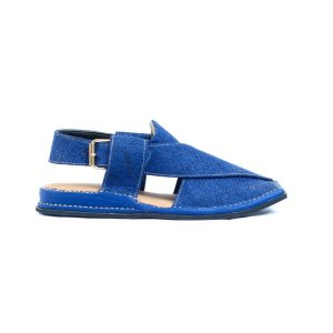 Zalmi-Blue-Mens-Handmade-Leather-Peshawari-Chappal-Pakistan-UK