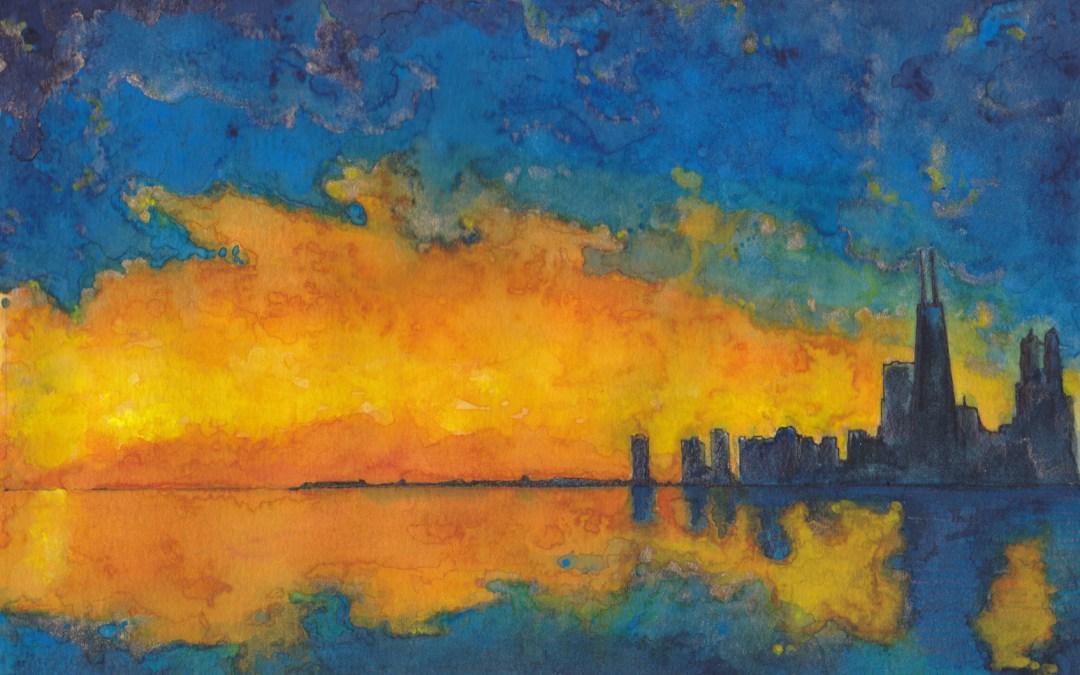 Chicago Sunset