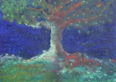 Between the Tree