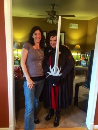 AWESOMEST COSTUME EVER! My MIL surprised me at Halloween - she came dressed as Noon. How cool is she?!