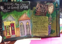 mixed media artwork for writers