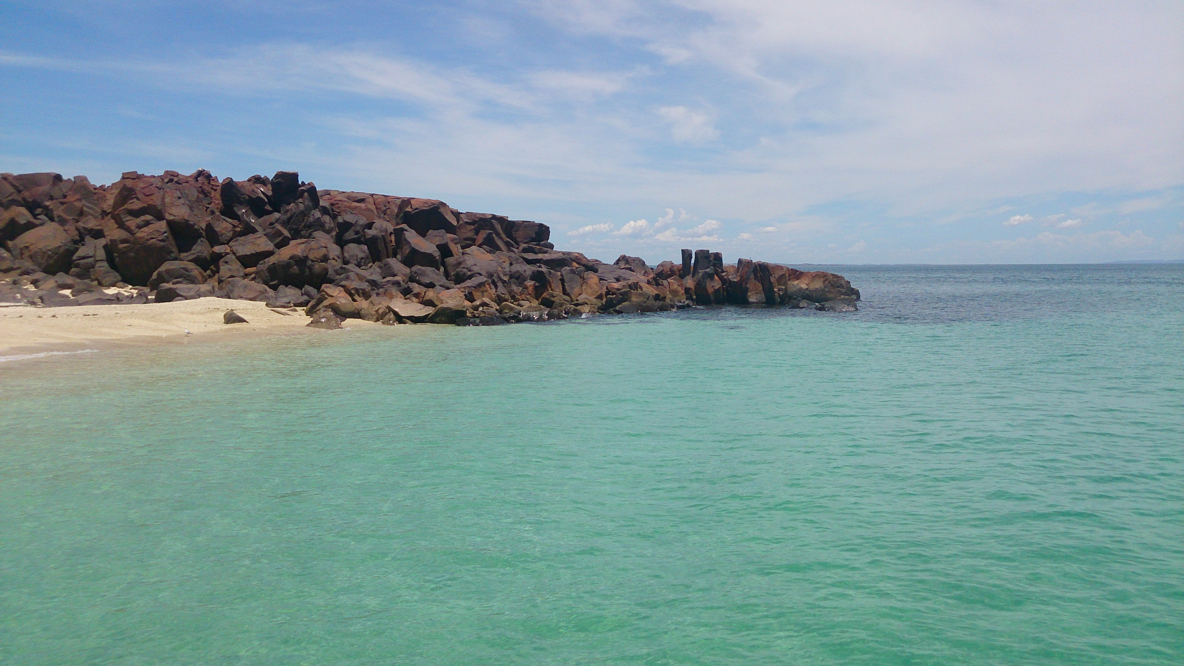 Crystal clear water in the Dampier Archipelago.