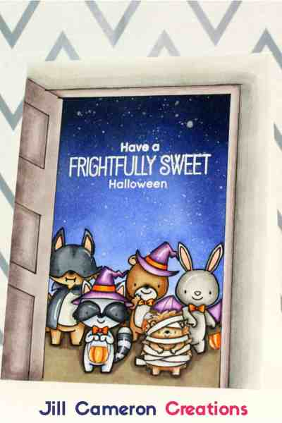 Frightfully Sweet One Layer Card