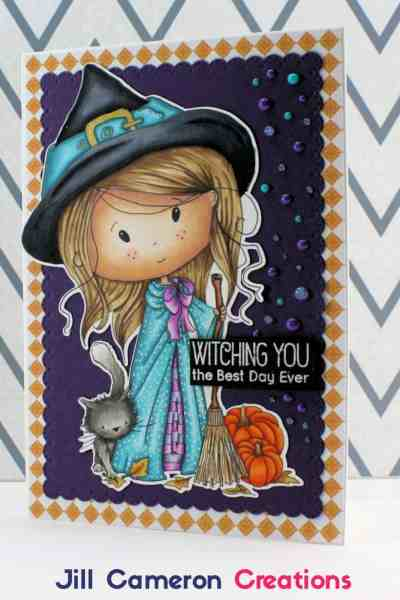 Copic Coloring Winnie Witch