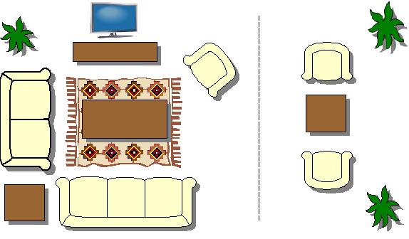 How To Arrange Furniture In A Rectangular Shaped Room