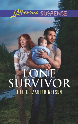 Cover for Jill Elizabeth Nelson's book Lone Survivor, A Love Inspired Suspense Mystery