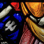Sower and Seeds, Stained Glass