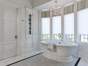 Built-in cabinetry in master ensuite