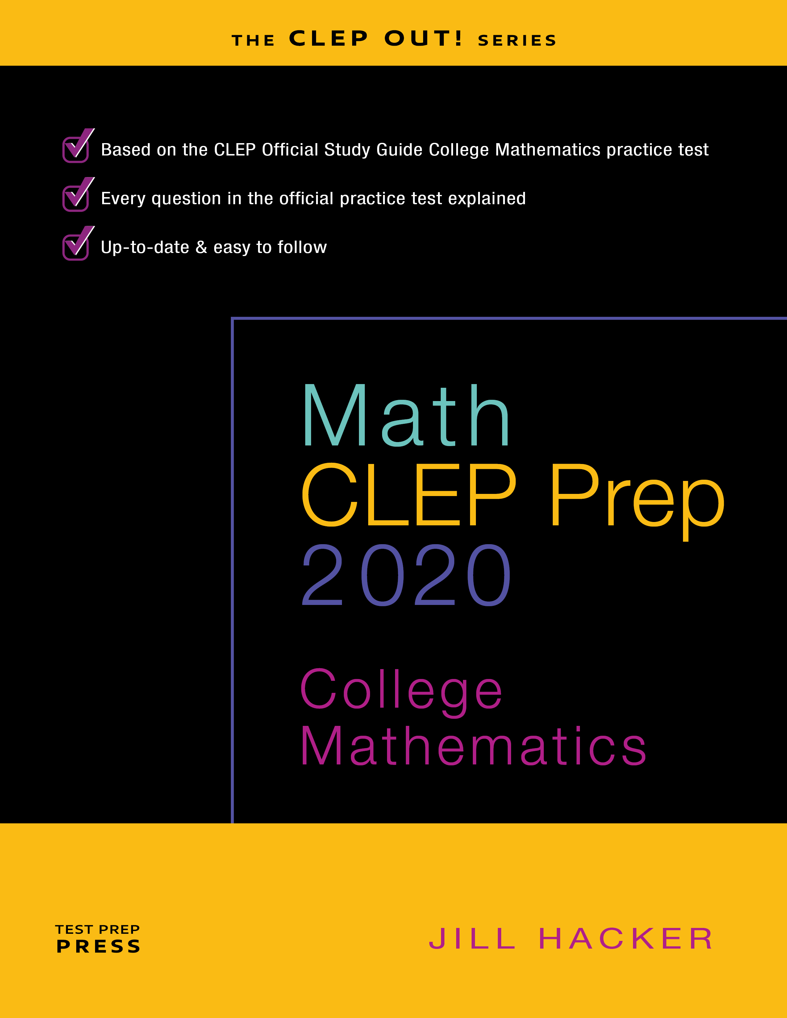 Math CLEP Prep College Mathematics 2020 study guide