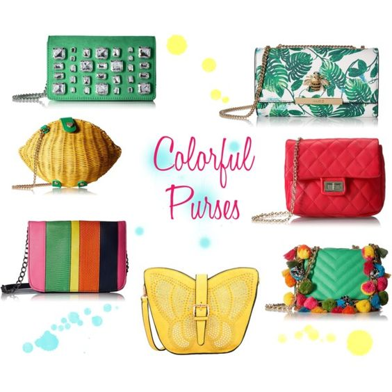 Colorful purses under $50!