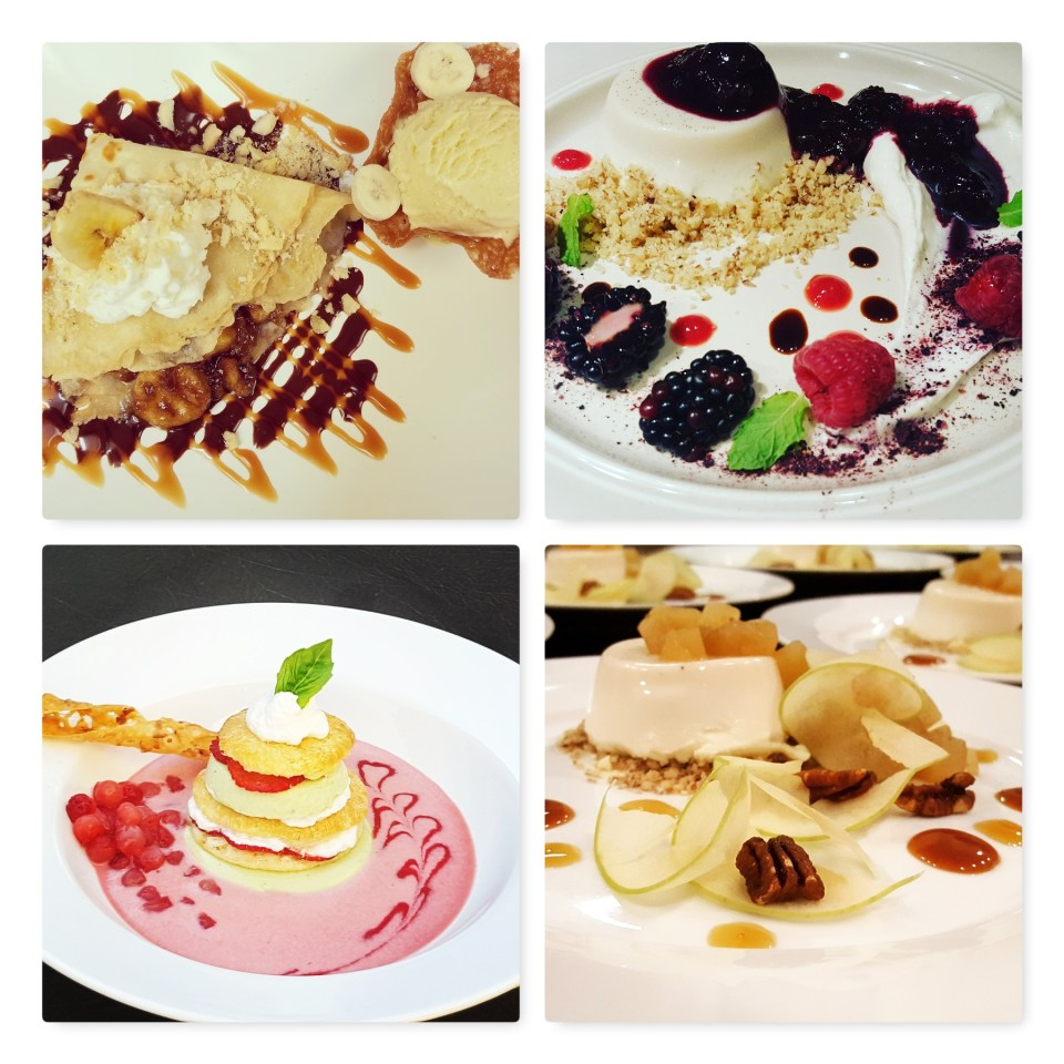 Dinner Party Dessert Courses