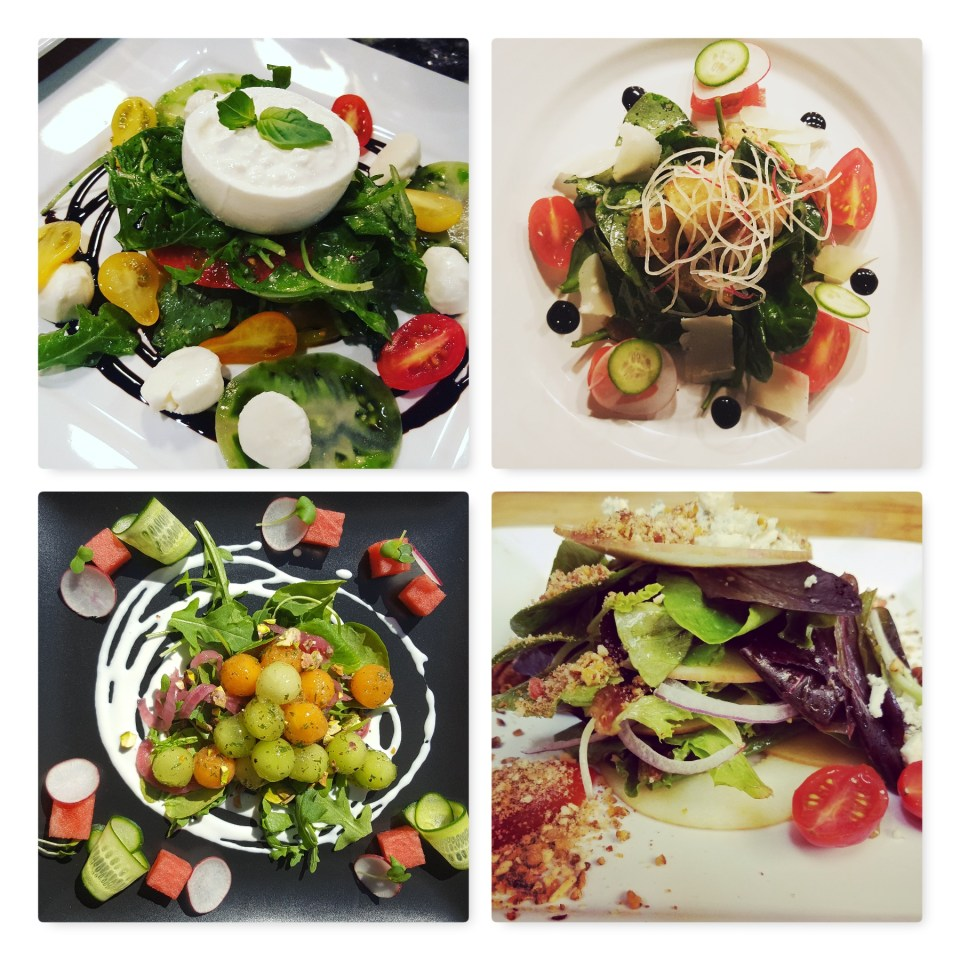 Dinner Party Salad Courses