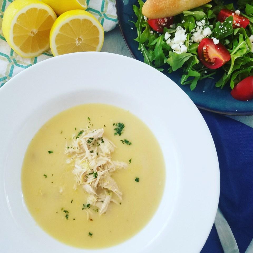 Avgolemono recipe Chicken Lemon and Rice Soup Greek Food
