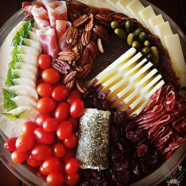 Cheeseboard with Charcuterie
