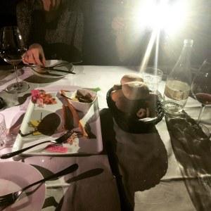 Blackout in Verona Italy Restaurant