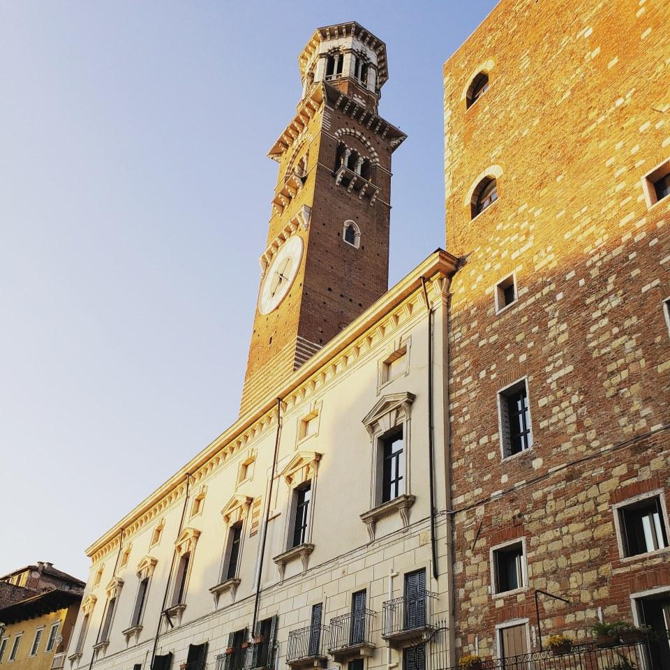 Piazza delle Erbe Clock Tower