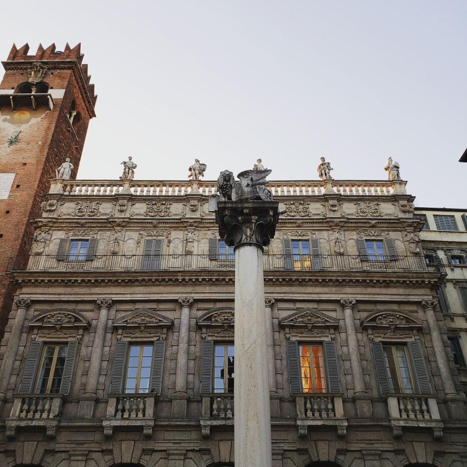 Piazza delle Erbe Pillar