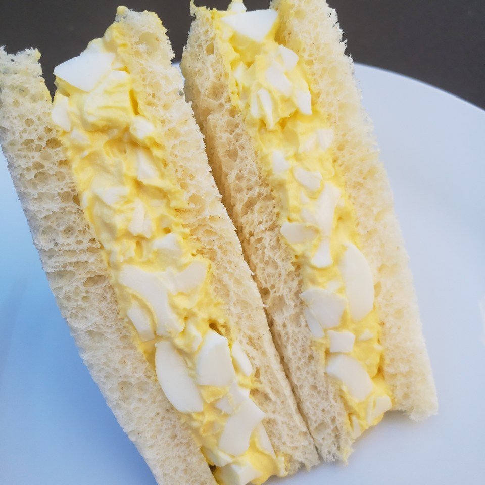 Fluffy Egg Salad Sandwich