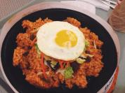Cheap food court find of bibimbap from Mr. Kimbob