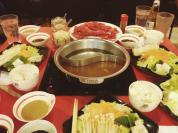 Hotpot date with papa & The Dork at Ganso Shabuway