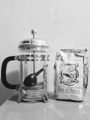 My coffee from Tagaytay & coffee/tea press gift