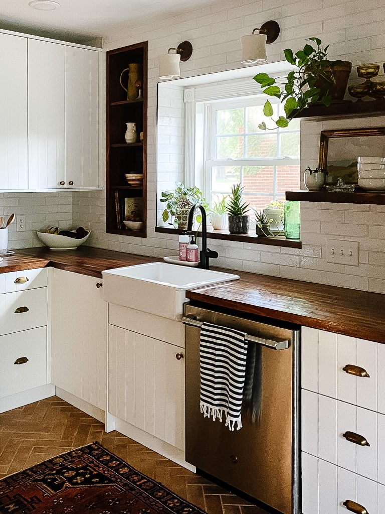 Before And After Incredible Ikea Kitchen Remodel With Semihandmade Interior Designer Des Moines Jillian Lare