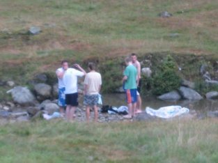 Everyone had to bathe with their clothes on!