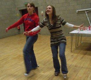 We had lots of fun dances too!