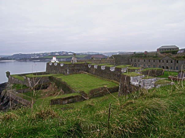 An old fort, that I cannot remember the name of!