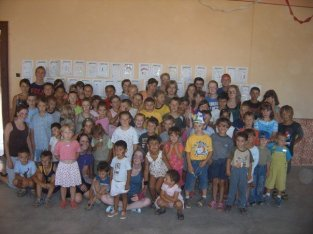 Our group with our kids.