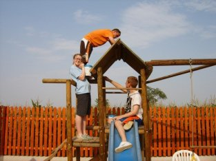 Working on the playground!