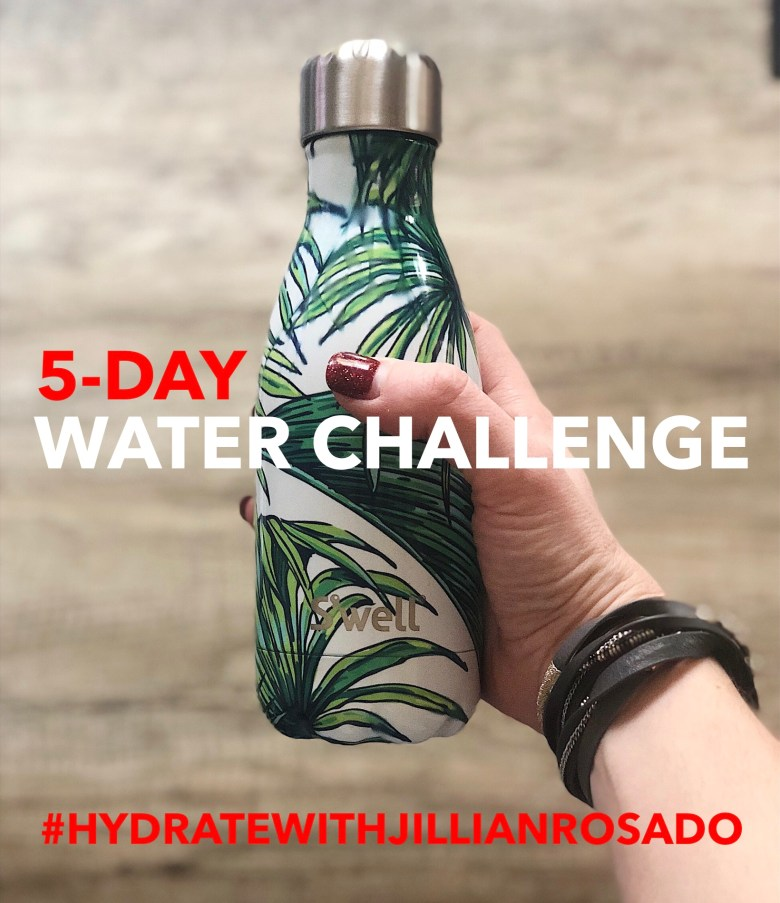 5-day water challenge
