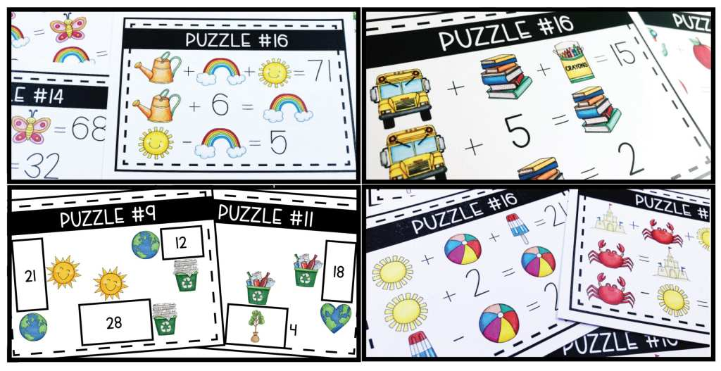 Logic Games and Logic Puzzles for Math Centers