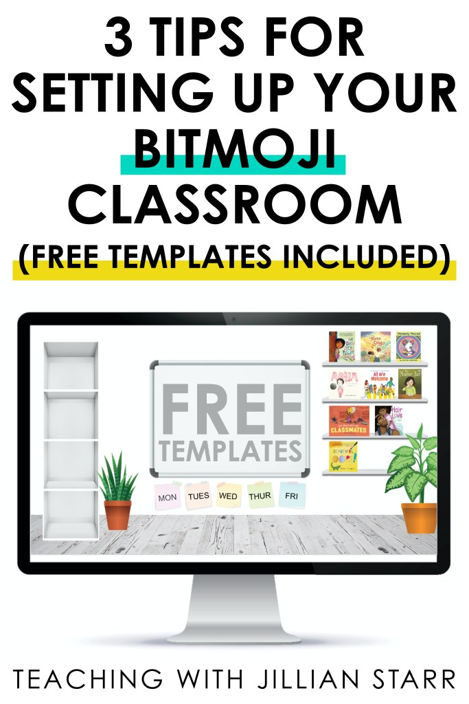 Free Downloads and Tips for creating your bitmoji classroom (step-by-step how-to's included!) Bitmoji classrooms are fun, but there are also a lot of things to consider to ensure that they are accessible to ALL students. Get your google sites ready with clickable libraries, assignments, contact info, and so much more ALL in one place (and not overstimulating for your students). Click the link to see how to get started in Google Slides now!