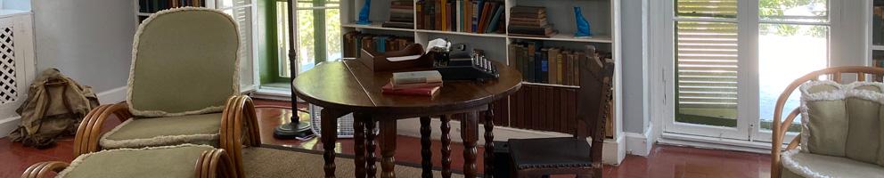Ernest Hemingway's study