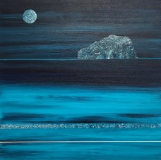Full moon, Bass Rock - sold