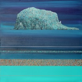Bass Rock from the boating pond - sold