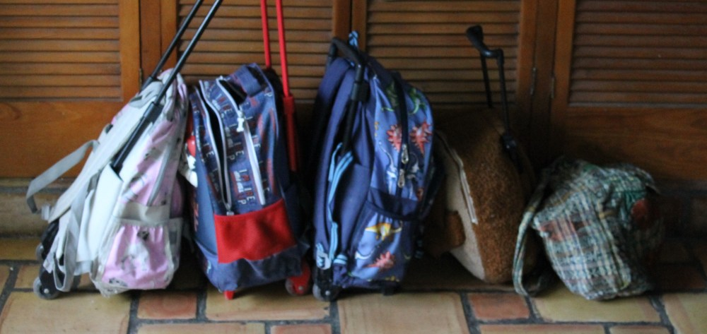 packing strategically for a cross-country road trip with kids