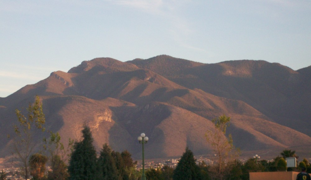 sunset over Saltillo