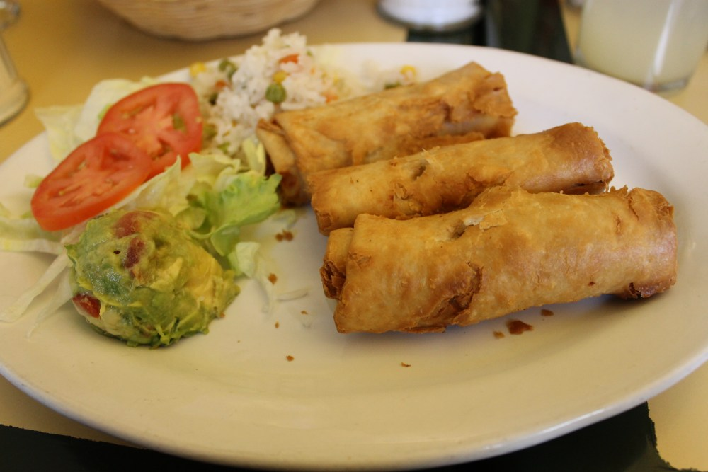 chimichangas in Mexico