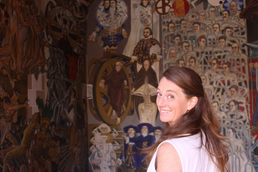 murals at Palacio del Gobierno, Zacatecas