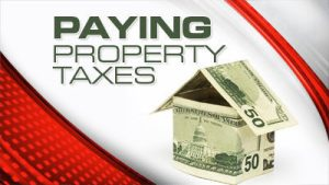 paying property taxes