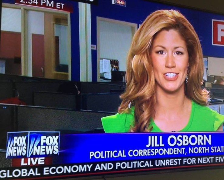 On FOX, Jill reports about North Carolina's controversial voter i.d. law.