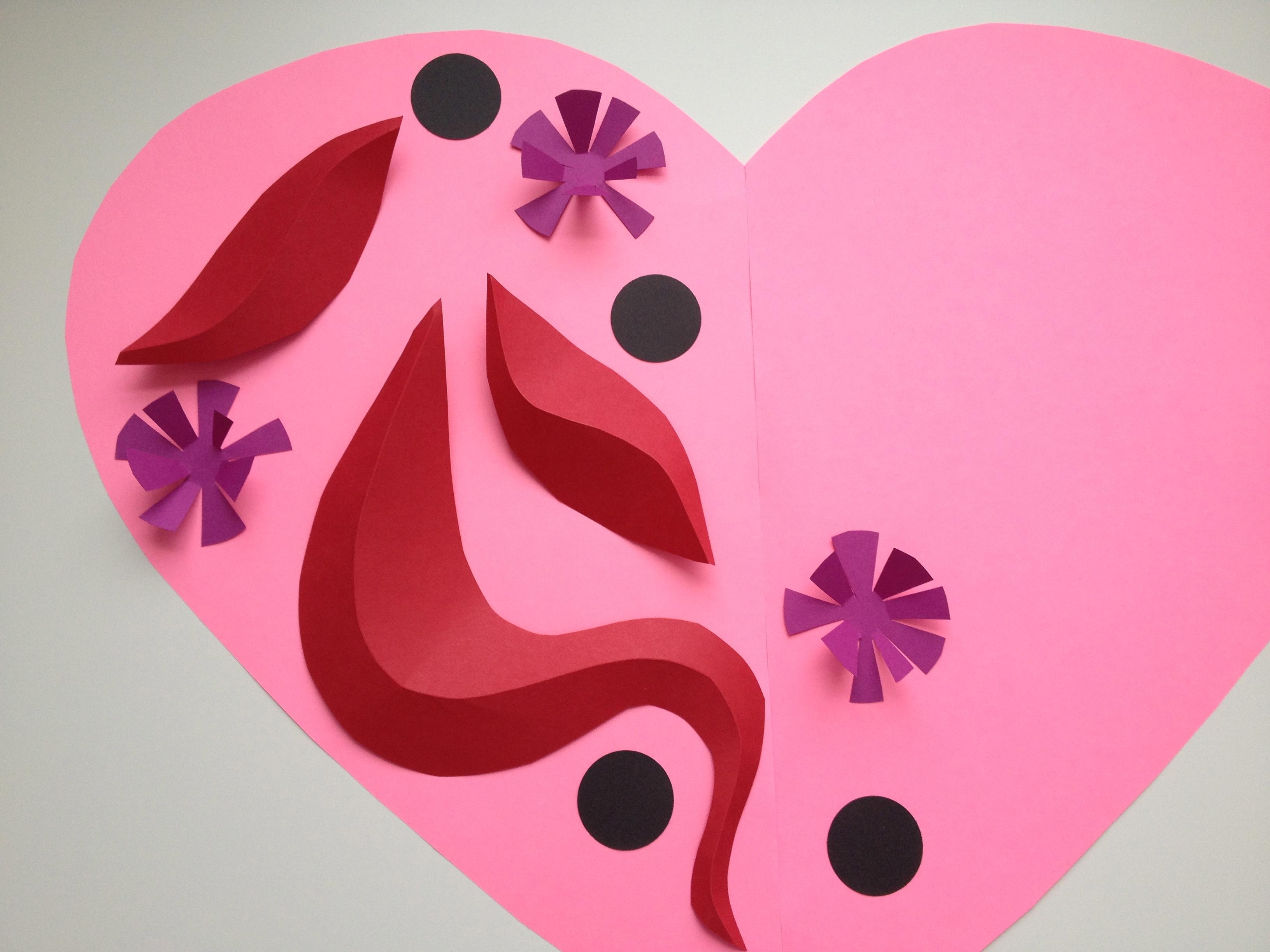 Valentine Art Lesson
