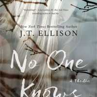 No One Knows by J T Ellison - 3*s